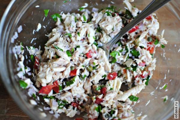 Салат тунец в тарталетках рецепты 95