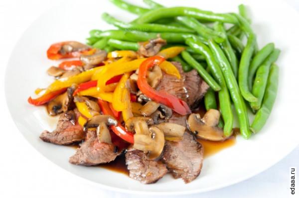 картошка с курицей и овощами запеченная в духовке рецепт с фото
