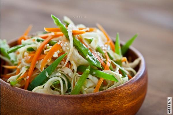 Фото азиатских салатов