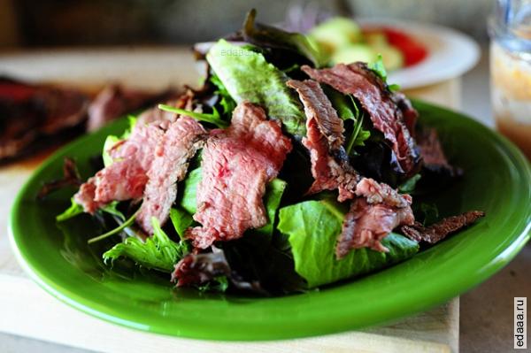 Лучшие салаты из мяса с