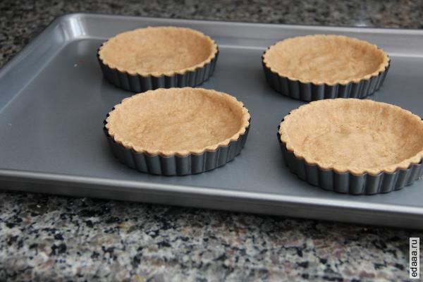 Пирожные в духовке рецепт с фото