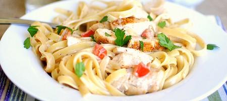 Куриная грудка и спагетти рецепты с фото — pic 1